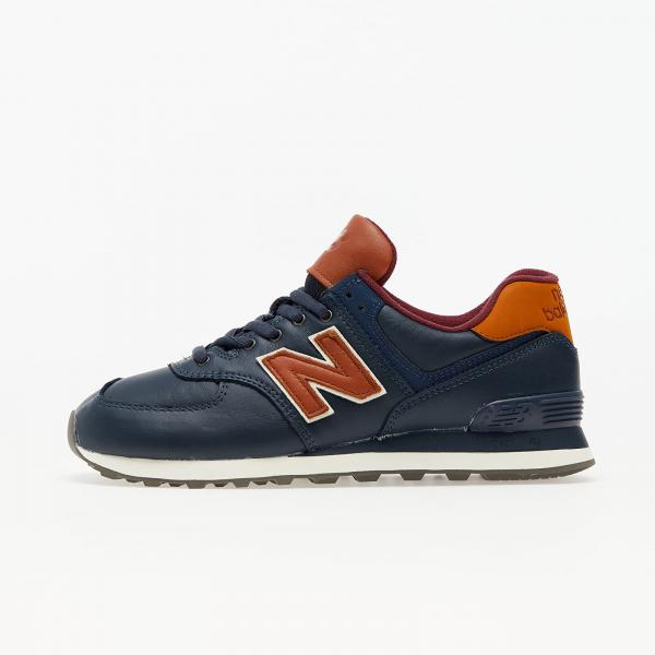New Balance 574 Natural indigo/ Saddle Brown