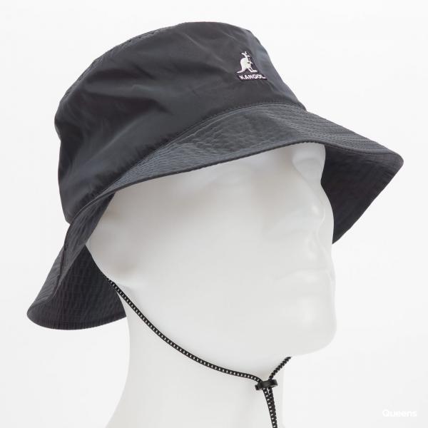 KANGOL Iridescent Jungle Hat tmavě šedý