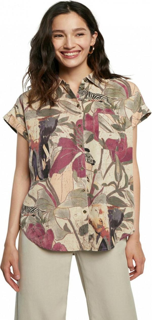 Cam Etnican Košile Desigual