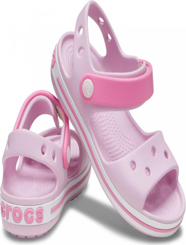 Crocband Sandal Kids Balerina Pink Sandále Crocs