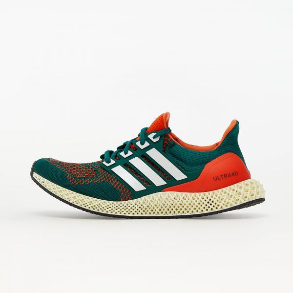 adidas Ultra4D Core Green/ Ftw White/ Core Orange