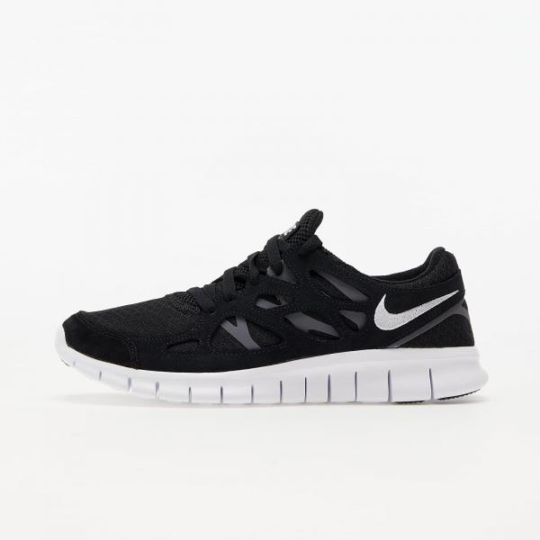 Nike Free Run 2 Black/ White-Dark Grey