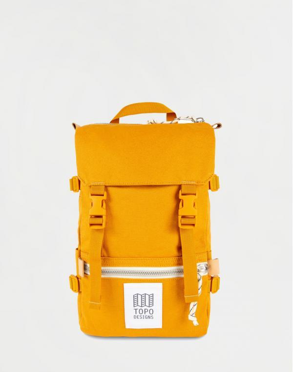 Topo Designs Rover Pack Mini Mustard Canvas