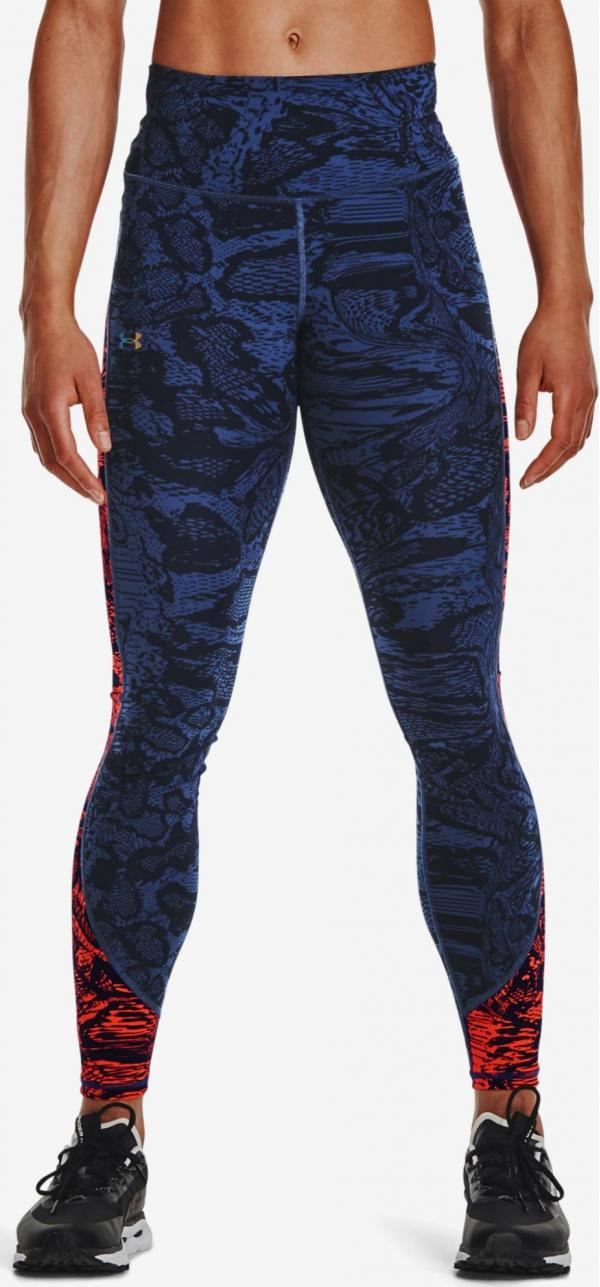 RUSH™ HeatGear® No-Slip Waistband Printed Full-Length Legíny Und