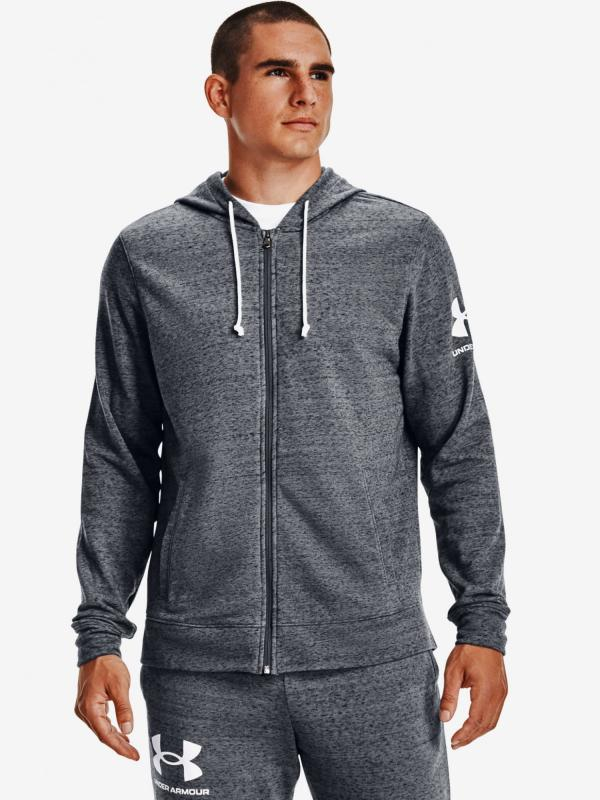 Rival Terry Full Zip Mikina Under Armour