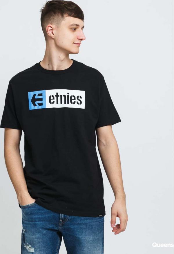 etnies New Box S/S Tee černé