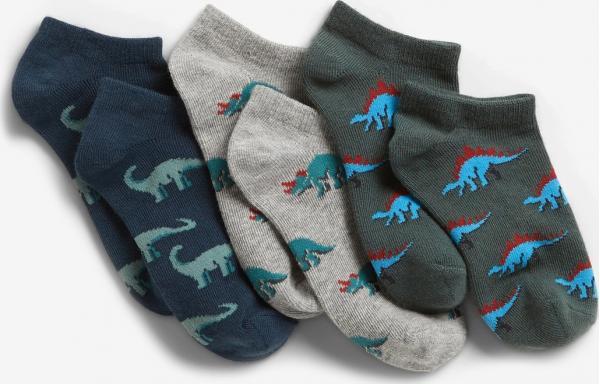 Dino Ponožky dětské 3 páry GAP