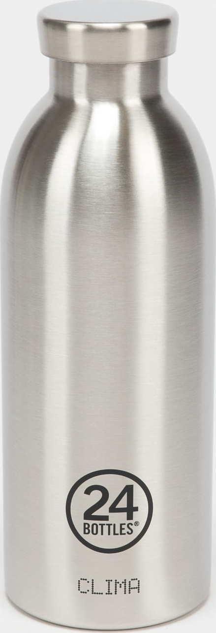 24Bottles® Clima Bottle 500ml stříbrná
