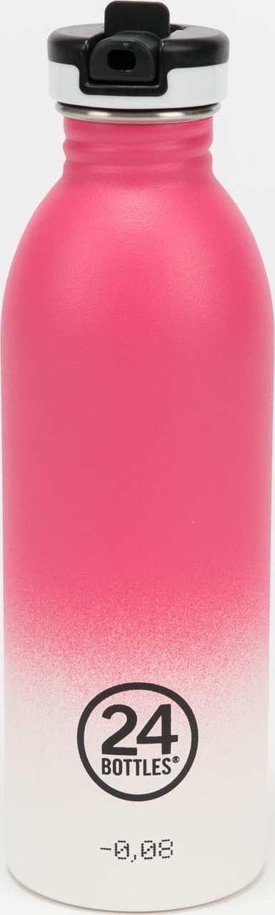 24Bottles® Urban Bottle 500ml růžová / bílá