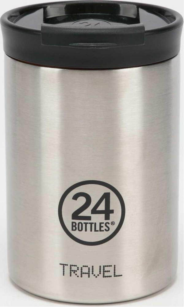 24Bottles® Travel Tumbler 350ml stříbrná