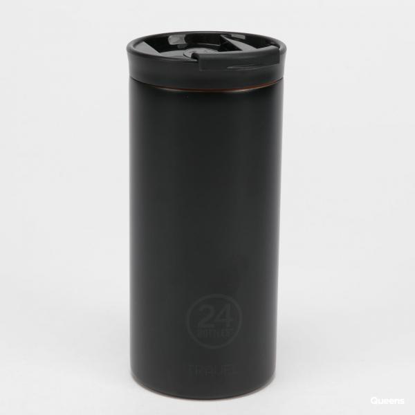 24Bottles® Travel Tumbler 600ml černá