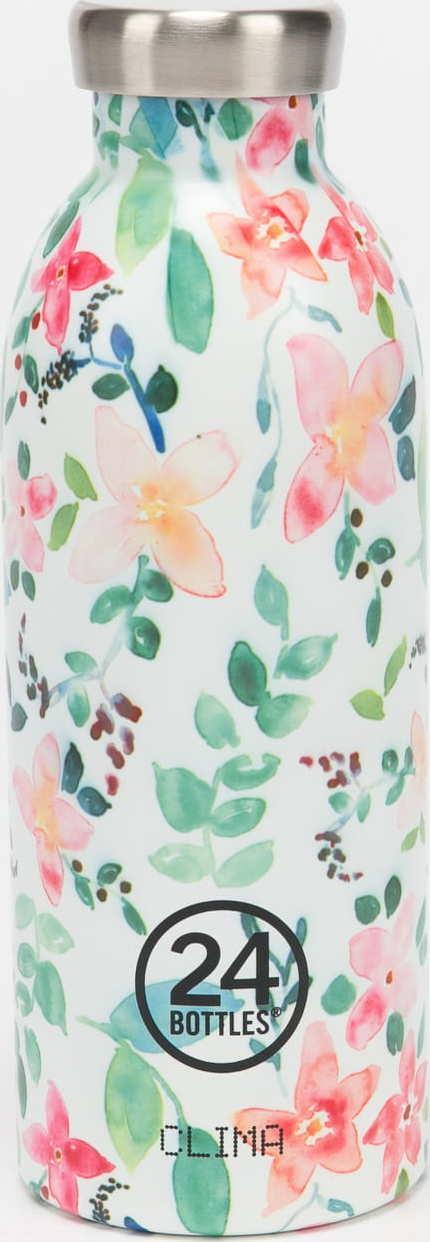 24Bottles® Clima Bottle 500ml bílá / zelená / růžová