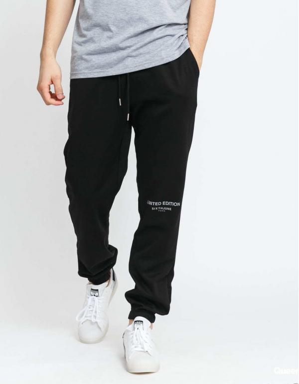 Sixth June Basic Jogger Pants černé