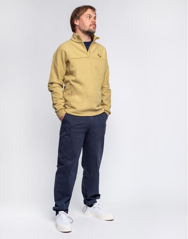 pinqponq Simple Pants Currant Blue M
