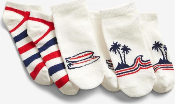Ponožky 3 páry dětské GAP