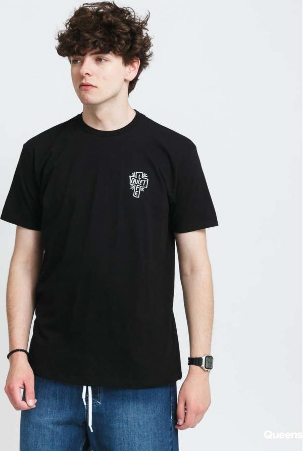 The Quiet Life Sharpie Logo Premium T-Shirt černé