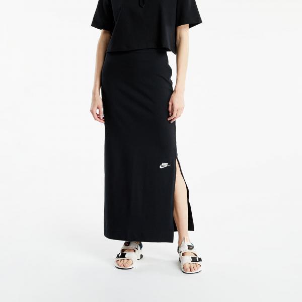 Nike Sportswear W Skirt Maxi Jrsy Black/ White