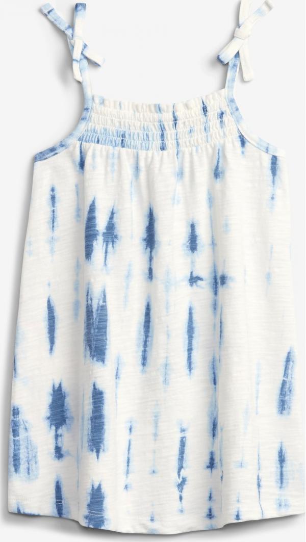 Tie-Dye Smocked Šaty dětské GAP
