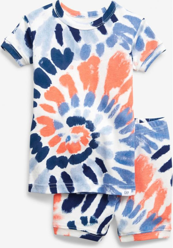 Swirl Tie-Dye Pyžamo dětské GAP