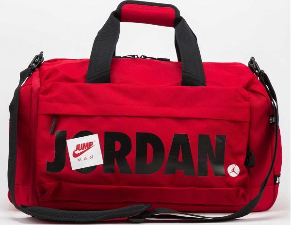 Jordan Jumpman Classic Duffle Bag červená / černá