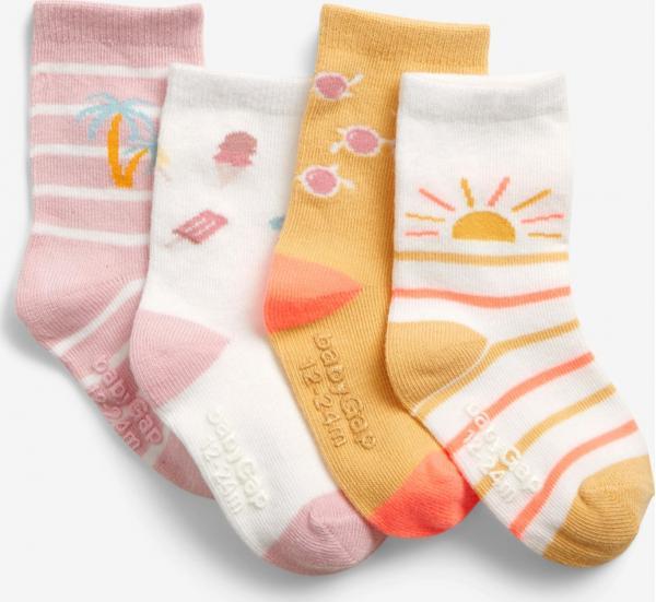 Ponožky 4 páry dětské GAP