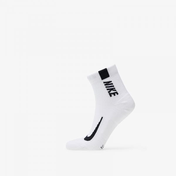 Nike Multiplier One Quarter Sock White/ Black