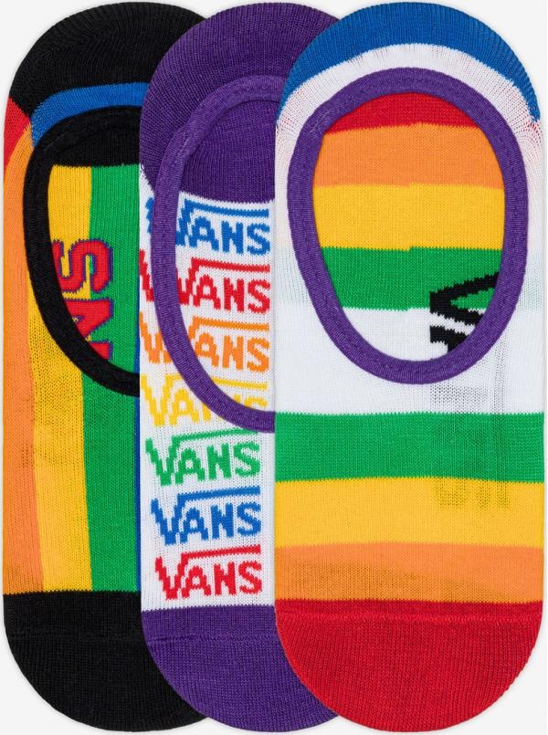 Pride Ponožky 3 páry Vans