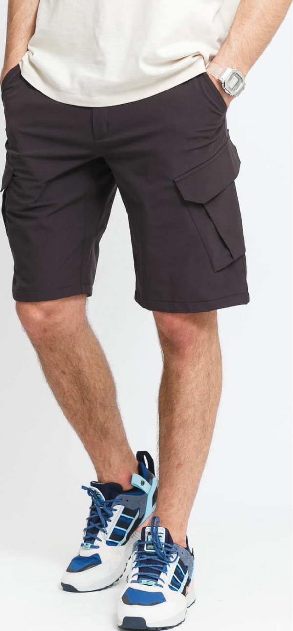 POUTNIK BY TILAK Armor Shorts tmavě šedé