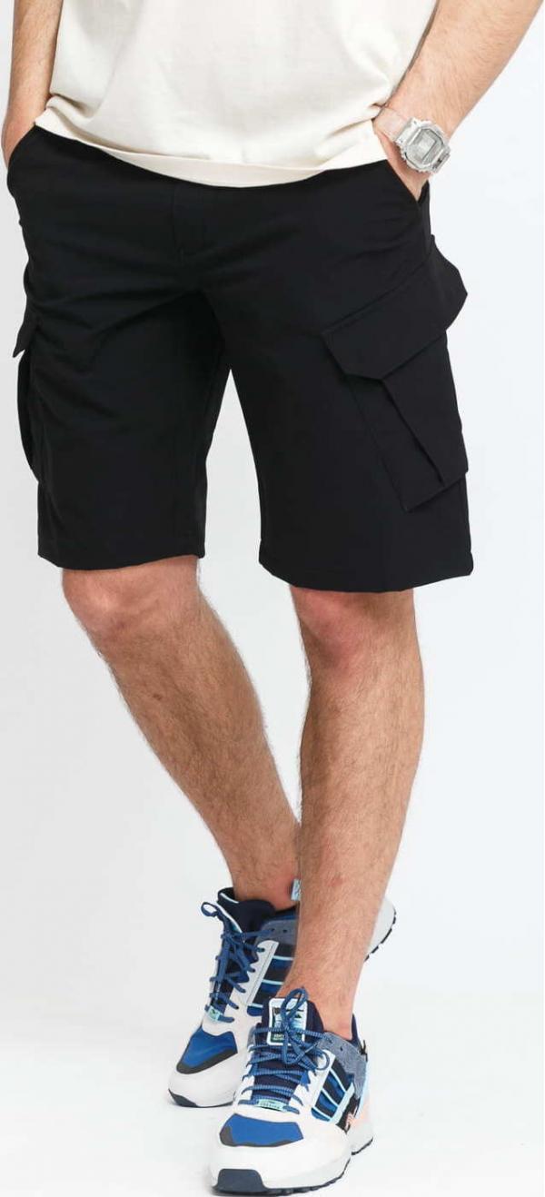 POUTNIK BY TILAK Armor Shorts černé