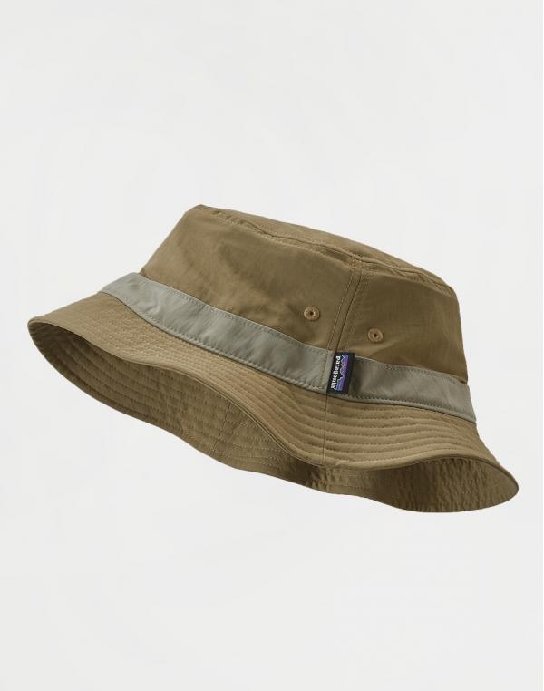 Patagonia Wavefarer Bucket Hat Ash Tan S/M
