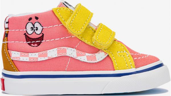SpongeBob Sk8-Mid Reissue V Tenisky dětské Vans
