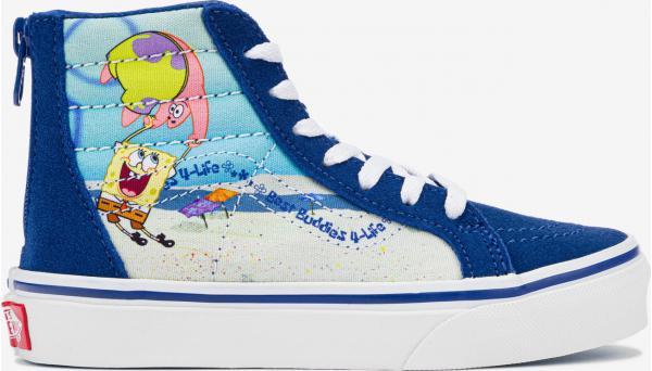 SpongeBob Sk8-Hi Zip Tenisky dětské Vans