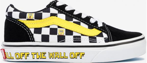 SpongeBob Old Skool Off The Wall Tenisky dětské Vans