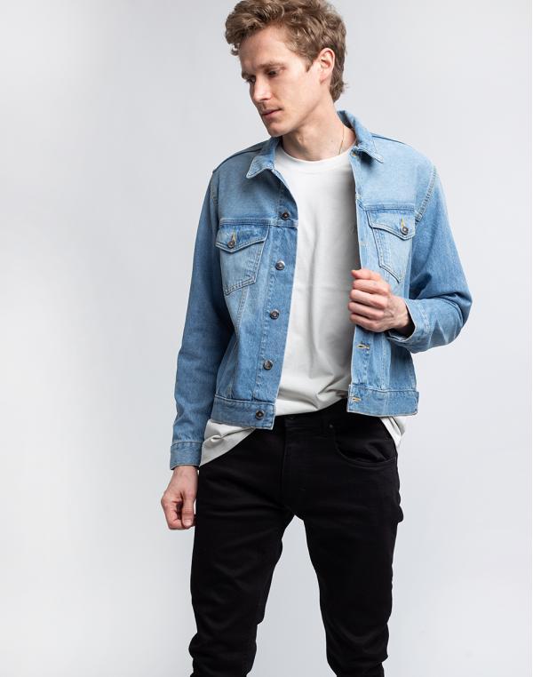 Mud Jeans Tyler Jacket Heavy Stone XL
