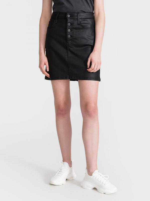 High Rise Mini Sukně Calvin Klein