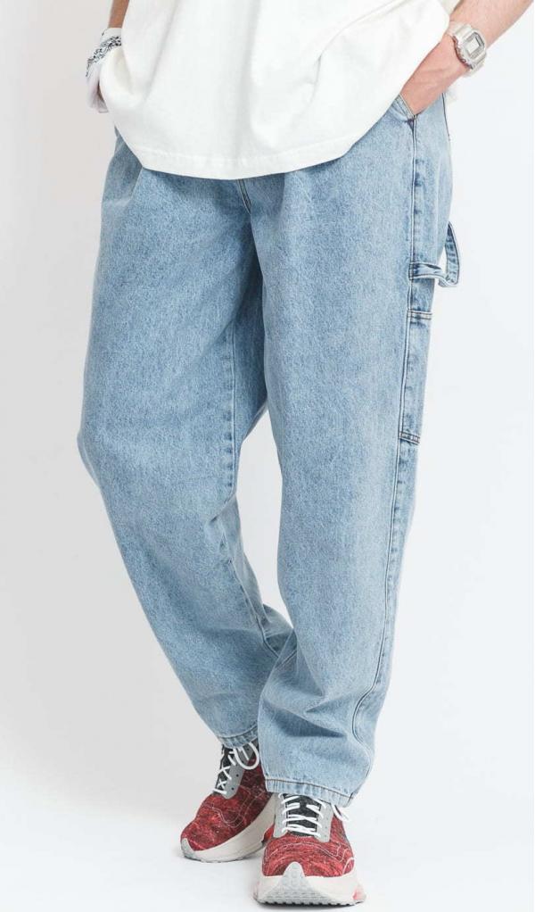PREACH Oversized Denim Pants blue