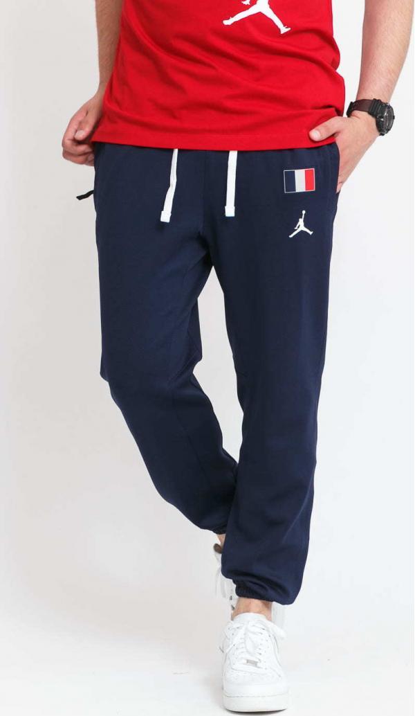 Jordan France MNK DF Therma Flex Showtime Pant navy