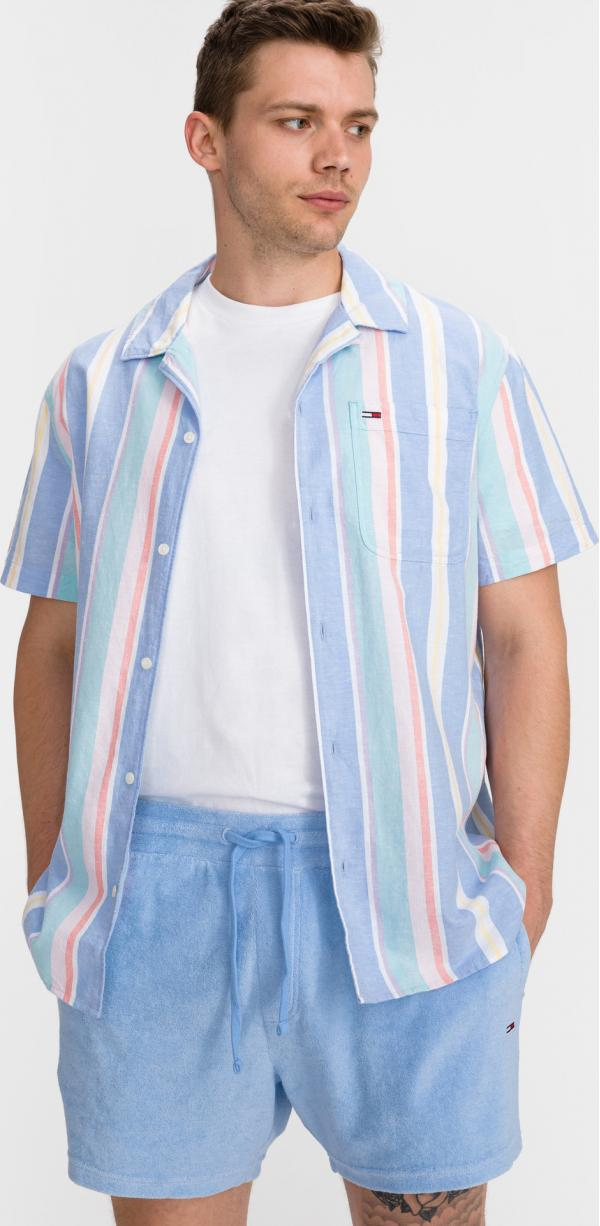 Pastel Vertical Stripe Košile Tommy Jeans