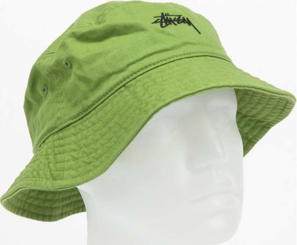 Stüssy Stock Bucket Hat zelený L-XL