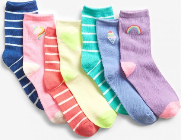 Fashion Ponožky 7 párů dětské GAP