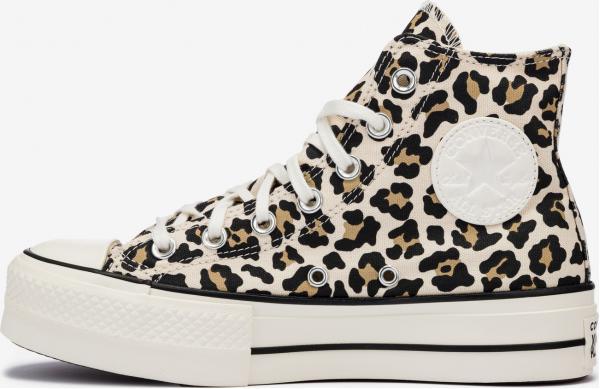 Chuck Taylor All Star Lift Hi Leopard Tenisky Converse