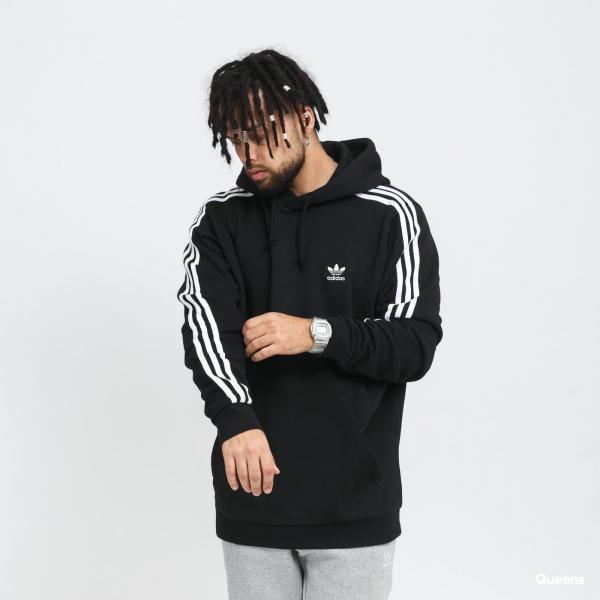 adidas Originals 3Stripe Hoody černá