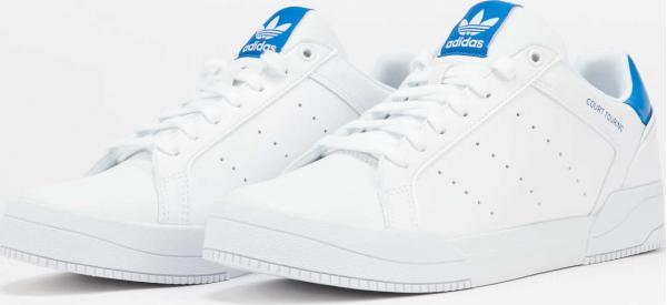 adidas Originals Court Tourino ftwwht / cblack / shoblu EUR 47 1/3