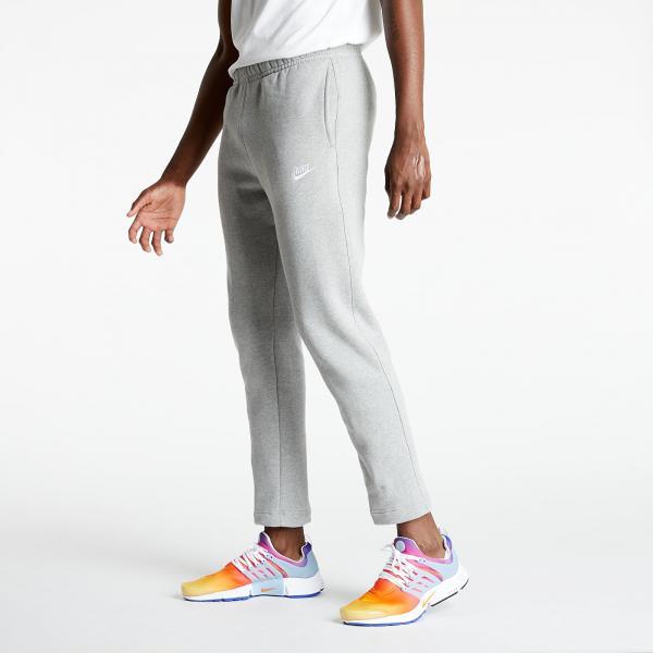 Nike Sportswear Club Fleece Pants Dk Grey Heather/ Matte Silver/ White