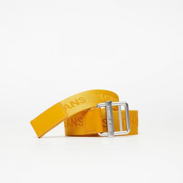 Tommy Jeans Essential Webbing Belt Yellow
