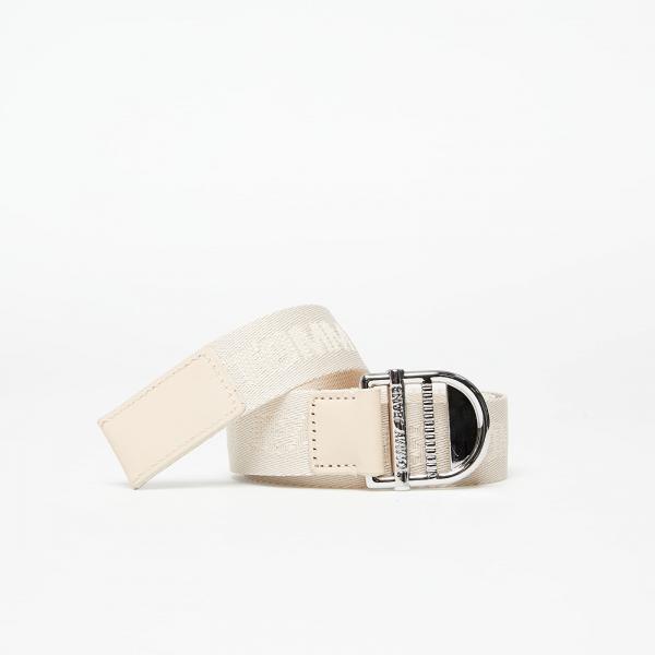 Tommy Jeans Webbing Essential Belt Beige