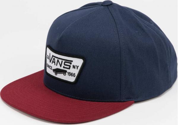 Vans MN Full Patch Snapback navy / vínová