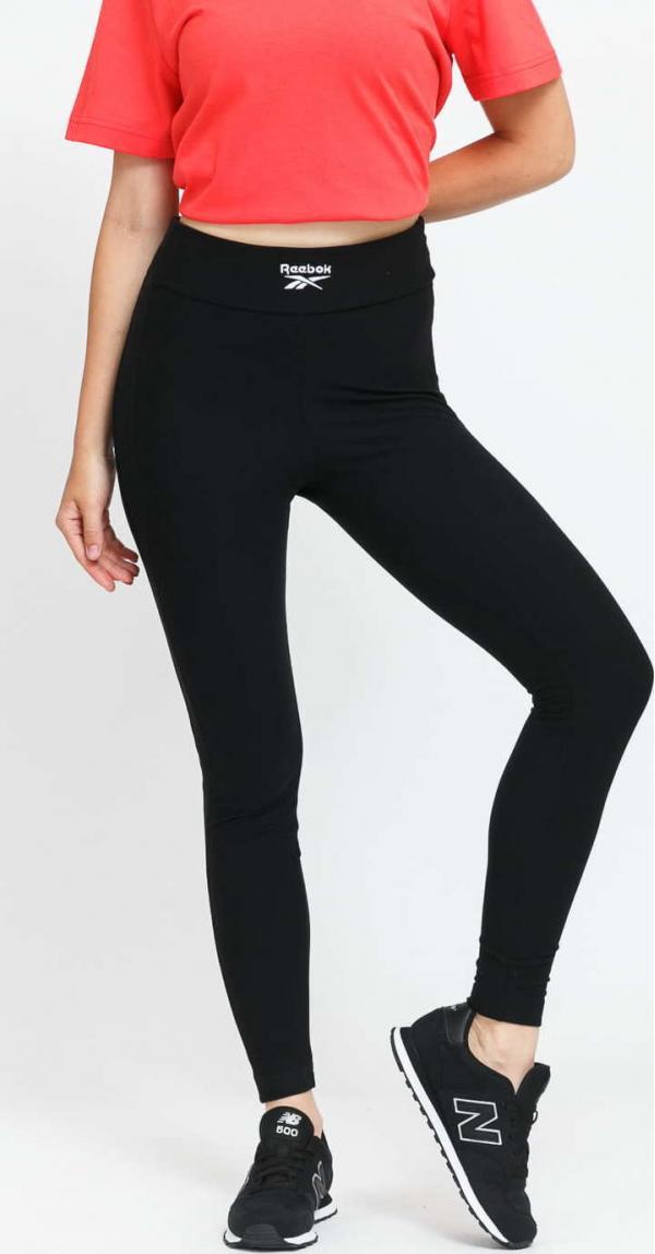 Reebok CL WDE Cozy Knit Legging černé