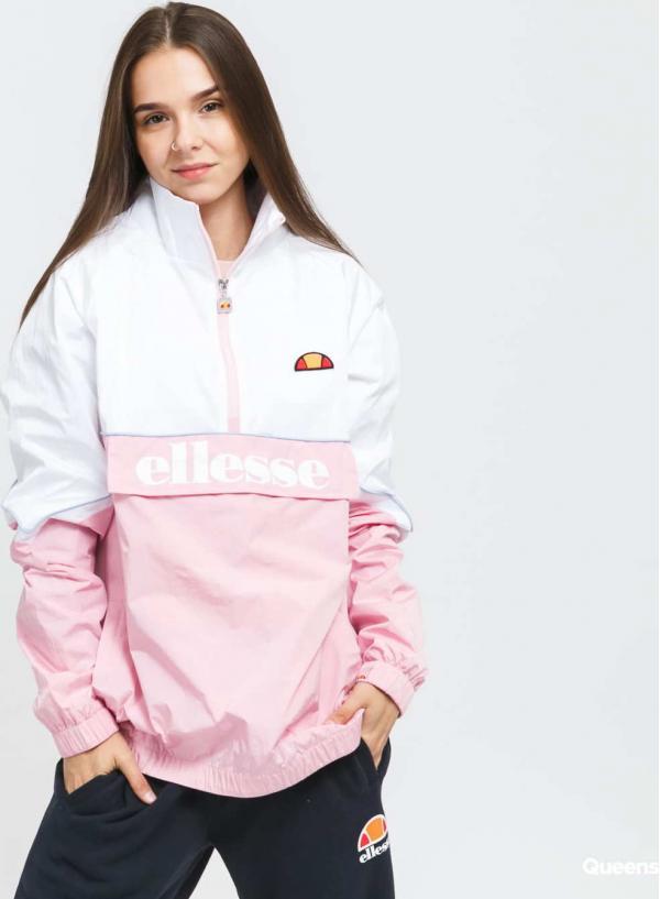 ellesse Scerti 1/2 ZipTrack Top růžová / bílá