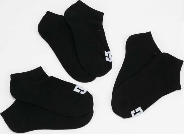 DC SPP DC Ankle Socks 3Pack černé